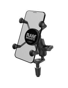 Soporte Universal Ram Mount para Smartphone RAM® X-Grip® con kit de Colocación en Horquilla