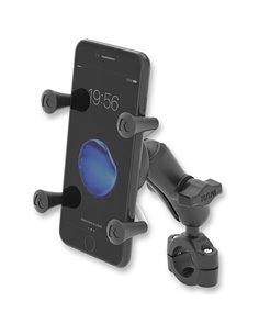 Soporte Ram Mount Universal para smartphone RAM® X-Grip® con Kit de Sujeccion Barra de Manillar RAM® Torque ™