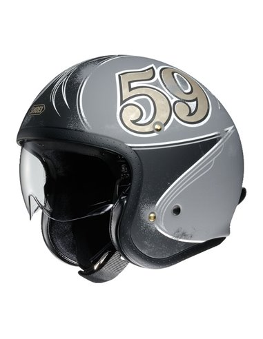 Casco Jet Shoei J·O Gratte-Ciel TC10