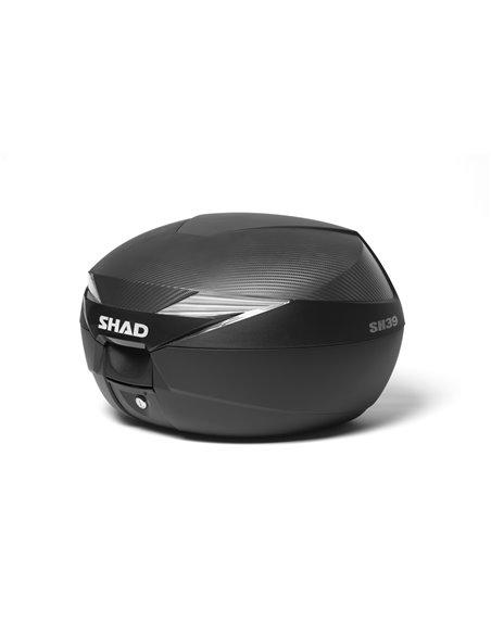 Top Case de Shad  SH39  CARBON 2013