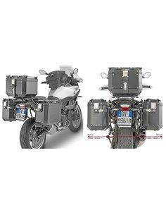 Portamaletas Givi PL ONE-FIT para Maletas MONOKEY® CAM-SIDE Trekker Outback para BMW F900XR