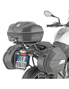Portamaletas Givi PL ONE-FIT configurado para maletas MONOKEY® para BMW F900XR (20)