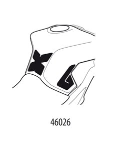 Adhesivo Protector de Depósito Uniracing para Yamaha MT-09 (14-17)