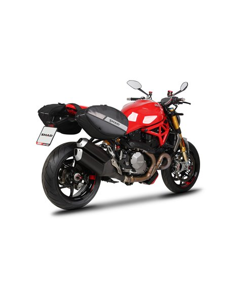 Fijación específica para bolsas laterales Shad para Ducati Monster 1200 '17