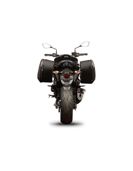 Fijación específica para bolsas laterales Shad para Kawasaki Z800 '13
