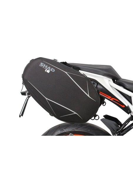 Fijación específica para bolsas laterales Shad para KTM Duke 125/390 '17