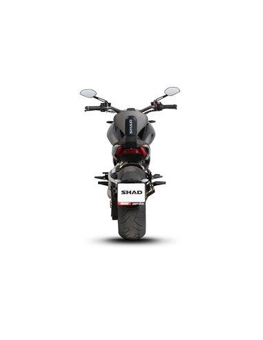 SHAD H0FR33RV Fijaci/ón Respaldo de Moto Negro 0