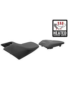 Conjunto Asiento Delantero y Trasero Calefactado Shad para Honda CBF 600/1000
