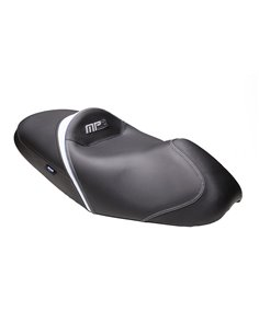 Asiento Confort Shad para  MP3 250 Negro/Blanco