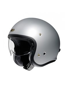 Casco Jet Shoei J·O Gris Plata Mate