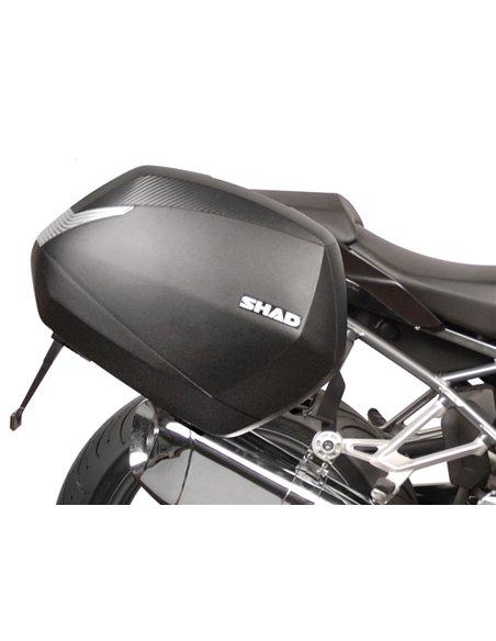 Soporte Maletas Laterales 3P-SYSTEM  de Shad para  BMW R1200 R/RS '15