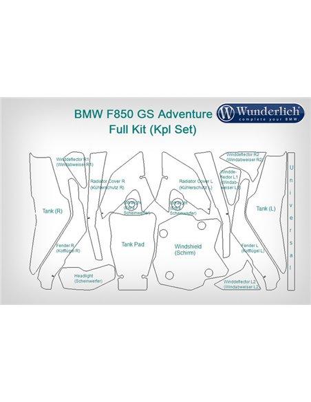 Set Completo de Protección de pintura Venture Shield para BMW  F 850 GS (2019-)