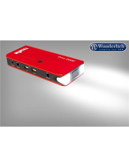 Sistema portátil de arranque de emergencia de 12 V y USB - Drive 13000 Rojo
