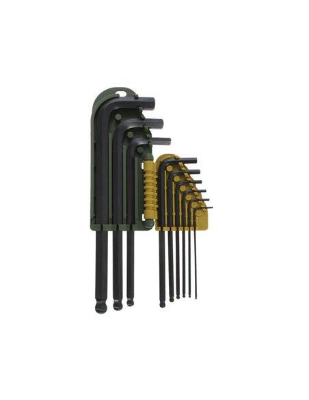 Set de 9 piezas llaves Allen Proxxon