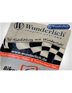 Paños de limpieza Wunderlich para pantalla de casco