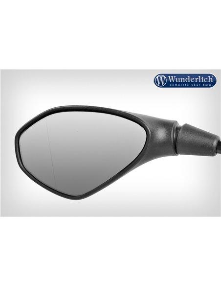 """Aplique visión convexa para espejo """"SAFER-VIEW"""" Cromado Izquierdo R1200GSLC, R1250G y Adv, RnineT y S1000XR"""