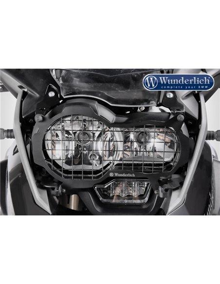 Rejilla protectora de faros en Negro para BMW R1200GS y Adv. LC, y R1250GS