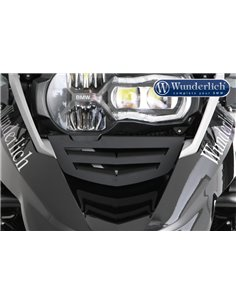 Rejilla de toma de aire de aluminio negro para BMW R 1200 GS LC (2013 - 2016) Led