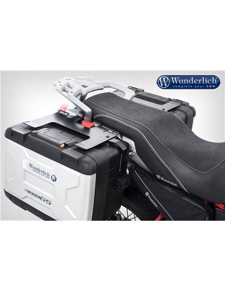 Portaequipajes en negro para la maleta Vario original para BMW  R 1200 GS (-2012) y Adv. (-2013)