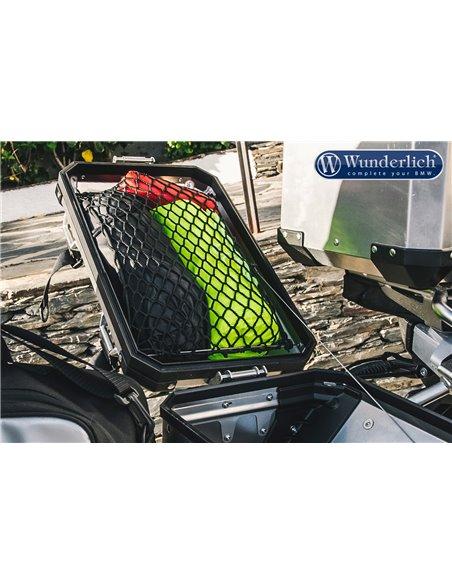 Malla Negra para tapa de maleta de aluminio para  BMW R1200GS y Adv. LC y R1250GS
