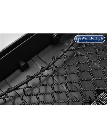 Malla Negra para tapa de maleta y top case Vario de BMW f700/750/800GS y R1200/1250GS