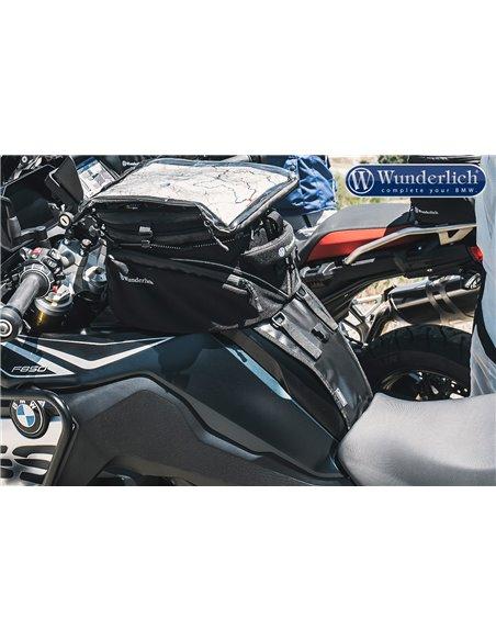 Soporte Wunderlich para bolsa sobredepósito Elephant para BMW F750/850GS (2018-)