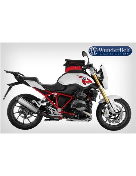 Soporte Wunderlich para bolsa sobredepósito Elephant para BMW R1200R/RS LC