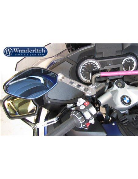 Abrazadera de espejo negra para BMW SerieF, R y K