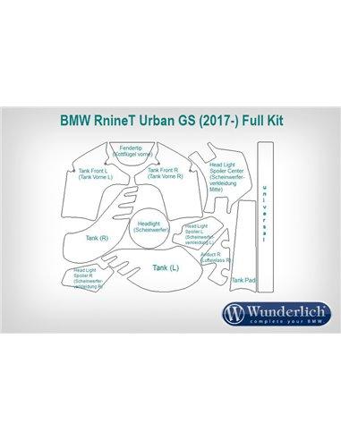 Set completo de protección de pintura Venture Shield para BMW  R nineT Urban G/S
