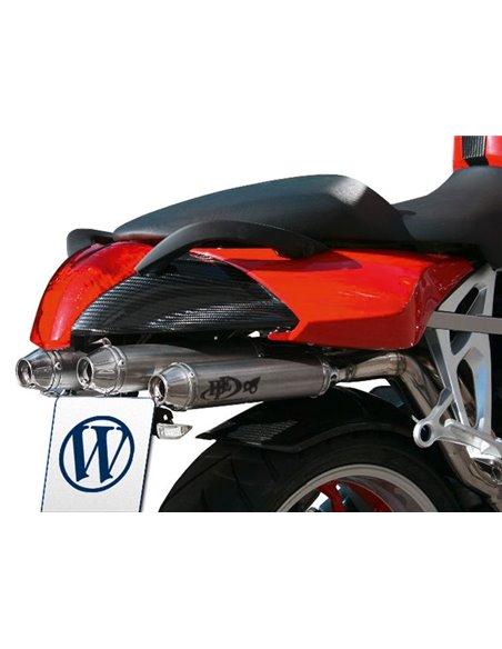 Carenado Carbono para el colín con asa para pasajero para BMW K1200/1300S