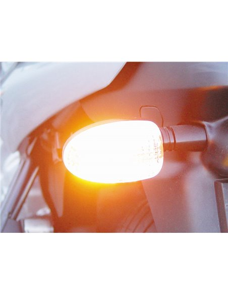 """Cristal de intermitente  """"Clear Flash"""" para BMW Serie K y R"""