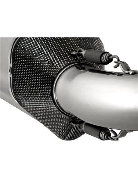 """Silenciador Remus """"Hexa Cone"""" con catalizador para BMW K1200/1300"""