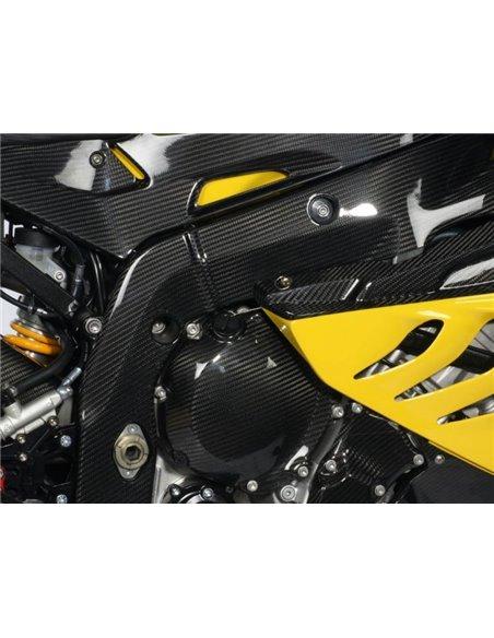 Cubiertas Carbono para chasis para BMW  S 1000 RR ( - 2011)