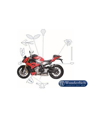 Set protección pintura depósito VentureShield para BMW S1000R/HP4