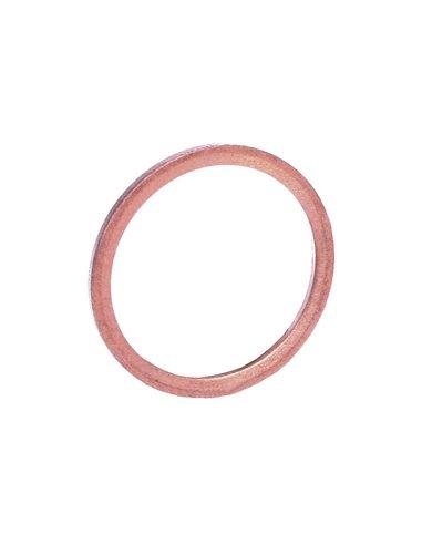 Arandela-junta de cobre 16 mm para tapón de aceite