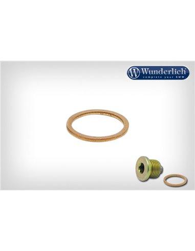 Arandela-junta de cobre 18 mm para tapón de aceite