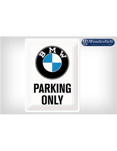 Letrero de chapa BMW Parking Only 30 x 40 cm - Nostalgic-Art