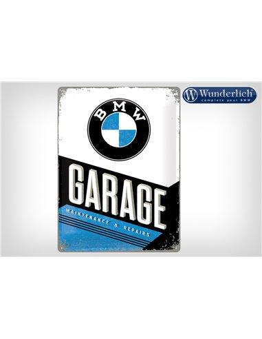 Letrero de chapa BMW Garage 30 x 40 cm - Nostalgic Art