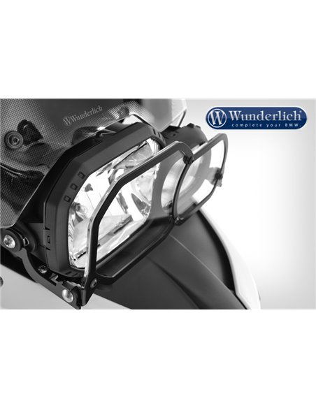 """Protector del faro  """"Clear Protect"""", Abatible y Transparente para BMW F650/700/800GS"""