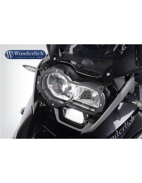 """Protector del faro  """"Clear"""", Abatible y Transparente para BMW R1200 y Adv LC y R1250"""