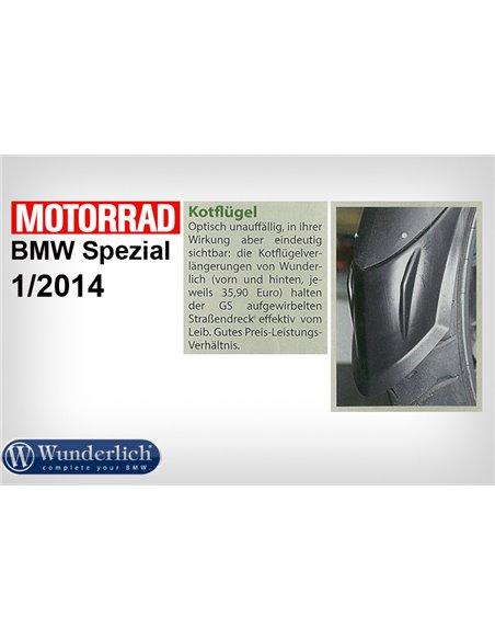 """Extensión de guardabarros delantero """"EXTENDA FENDER"""" para BMW R1200GS y Adv."""