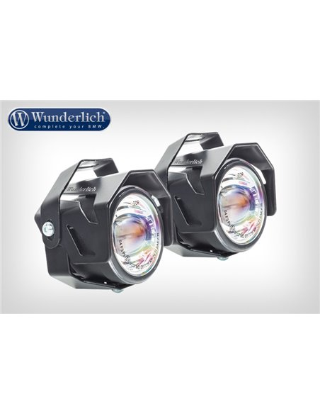 "Faros LED adicionales ""ATON"" Negro para BMW F700/800GS"