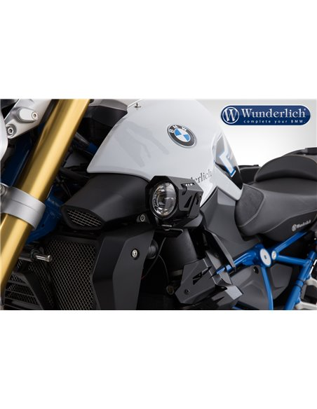 "Faros LED adicionales ""ATON"" Negro para BMW  R 1200 R LC"