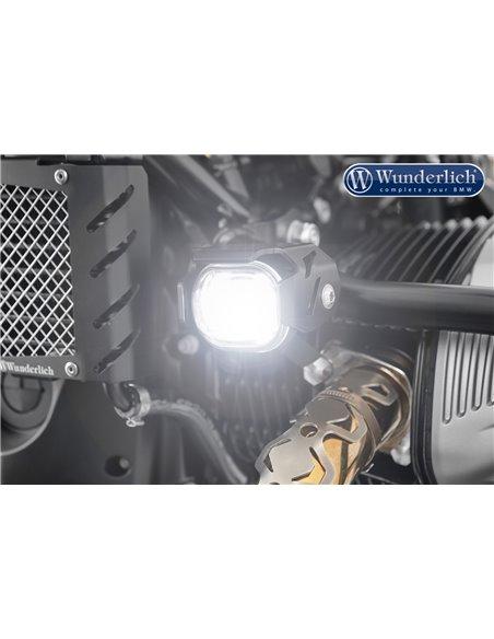 """Faros adicionales LED """"MICRO FLOOTER"""" de Wunderlich para BMW RnineT"""