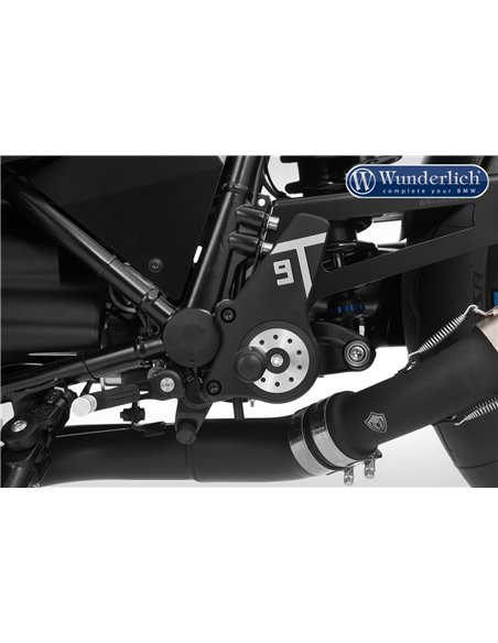 """Sistema de estriberas de Wunderlich """"9T-Vario"""" para BMW  R nineT Racer"""