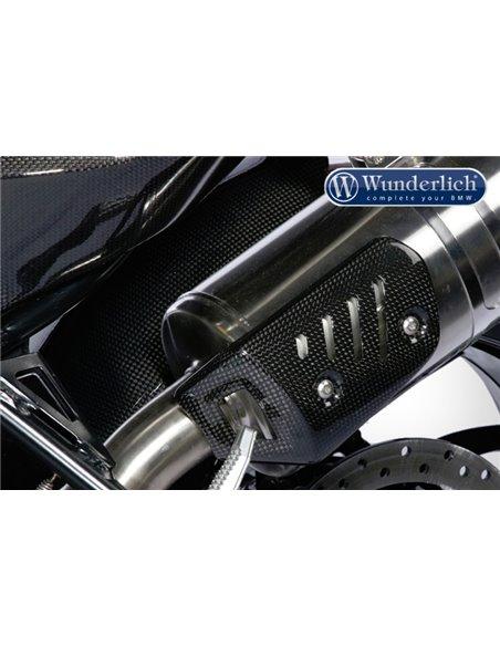 Protector Escape antitérmico Carbono para BMW F800