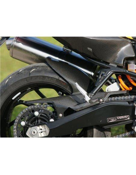 Guardabarros trasero Carbono para BMW F800R