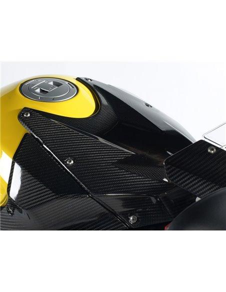 Cubierta Carbono Superior para depósito para BMW S1000RR/HP4